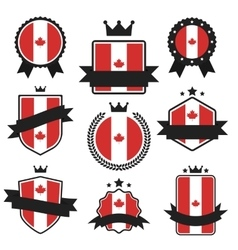 World flags series flag of canada vector