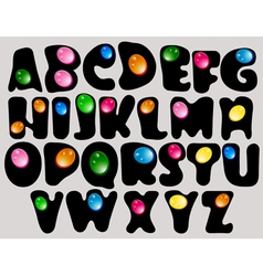 abstract ABC vector image