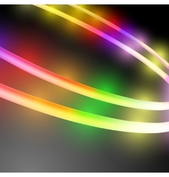 Abstract multicolored circle vector image vector image