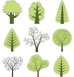 tree 2 vector image