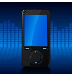 portable media player vector image vector image