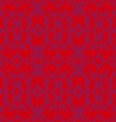 red pattern vector image vector image