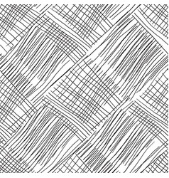 Abstract background with lines black and white vector