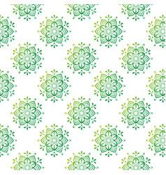 beautiful mandala stock patter vector image