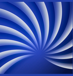 blue white waves abstract background technology vector image