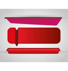 Bookmark icons vector image