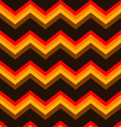 chevron brown orange seamless background pattern vector image