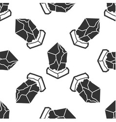 cryptocurrency coin lisk lsk icon seamless pattern vector image