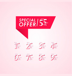 Discount special offer up to 55 off label vector
