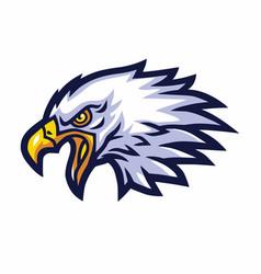 Eagle mascot logo sports team mascot vector