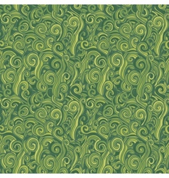 Green seamless pattern Background with grass vector image vector image