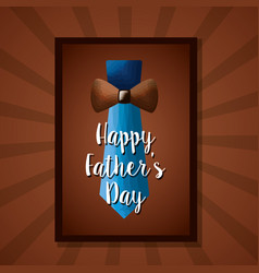 happy fathers day card image vector image