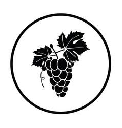Icon of grape vector