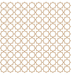 Ligature pattern seamless line style vector