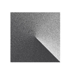 minimal stippled square shape vector image