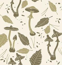 Mushroom Graphic Design Pattern vector