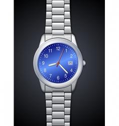 photorealistic watch vector image