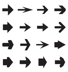 Right arrows vector