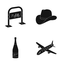 Transport clothing and or web icon in black style vector