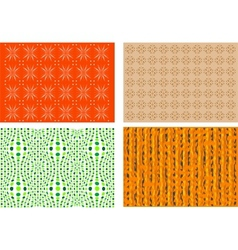Four colorful backgrounds vector image