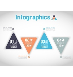 MODERN ORIGAMI BUSINESS SET STYLE OPTIONS BANNER vector image vector image