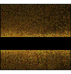 multicolor abstract lights gold disco background s vector image vector image