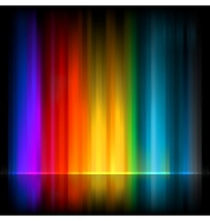 Aurora background vector