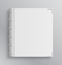 Blank of old books cover vector image