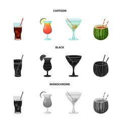 Drink and bar symbol vector
