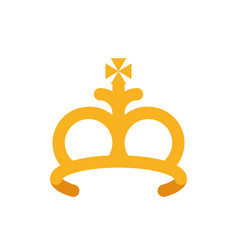 Isolated king crown design vector