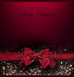 merry christmas greeting re vector image