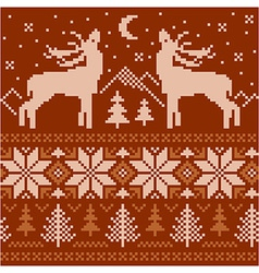 Northern ornament vector image