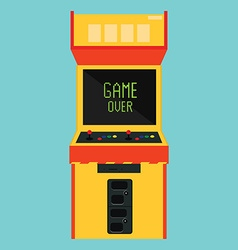 Retro arcade game vector