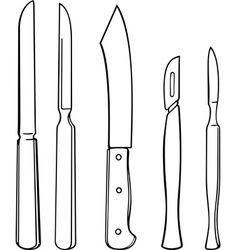 Surgical instruments vector