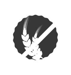 Wheat ears icon Grain design graphic vector