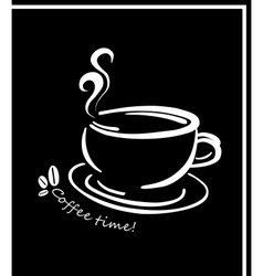 Coffee Time vector image vector image