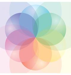 CMYK Palette vector image vector image