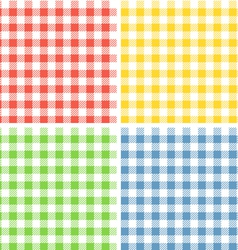 Color patterns collection vector image