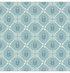 Keys seamless pattern vector image vector image