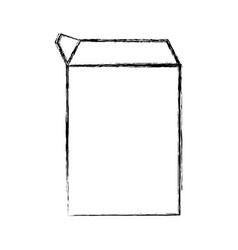 Carton box object vector