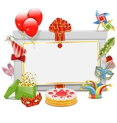 Celebration Board vector