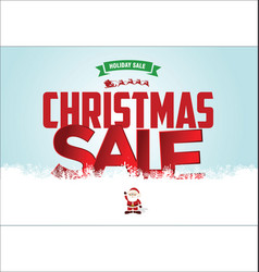 Christmas sale web banner 2 vector