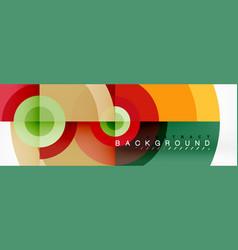 circle composition geometric minimal vector image
