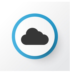 cloud icon symbol premium quality isolated vector image