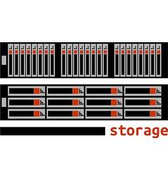 - computer storage vector image