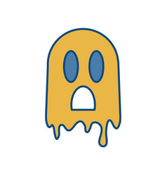 ghost icon image vector image