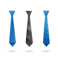 Tie abstract isolated vector