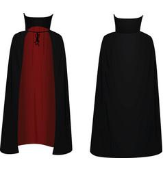 Vampire coat vector