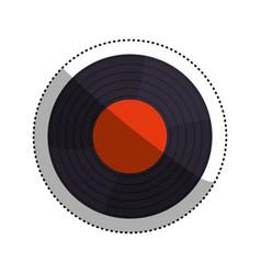 vintage vinyl music vector image