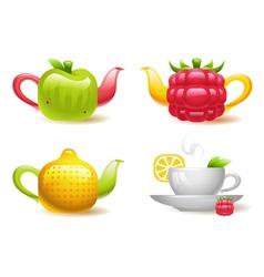 Fruit Tea vector image vector image